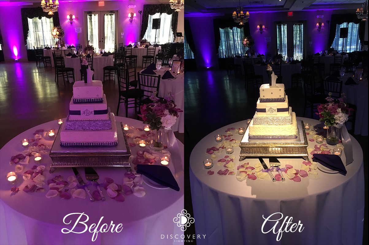 Cake Before & After